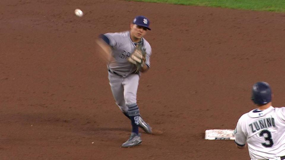Padres turn two, escape jam
