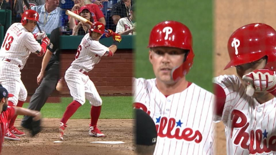 Phillies' 5-run 5th inning