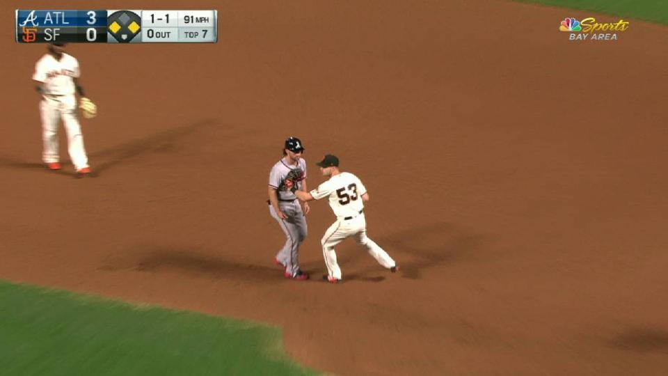 Slater's unassisted double play