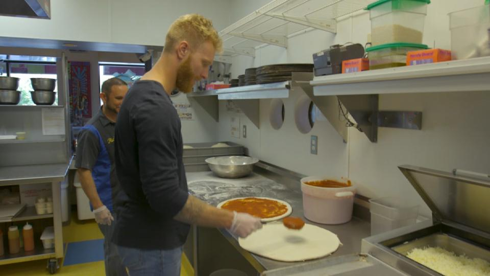 Foltynewicz is a pizza fanatic