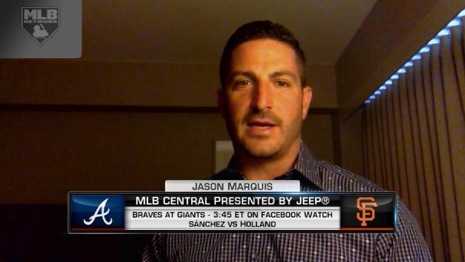 Marquis joins MLB Central