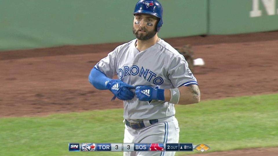 Pillar is HBP to tie game in 8th