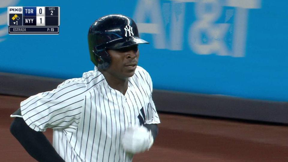 Gregorius' run-scoring groundout