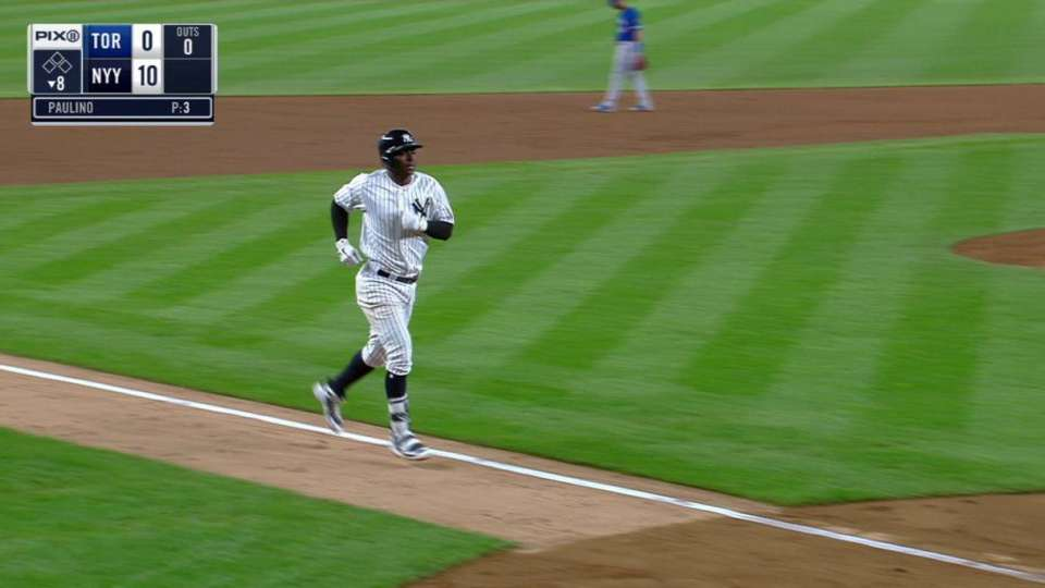Gregorius' solo home run