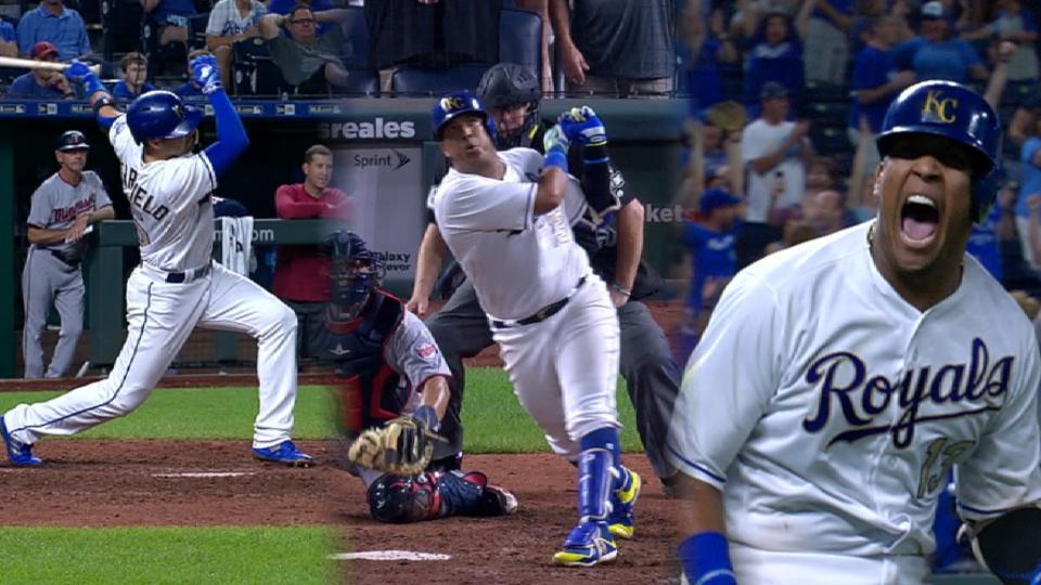 Must C: Perez's walk-off slam