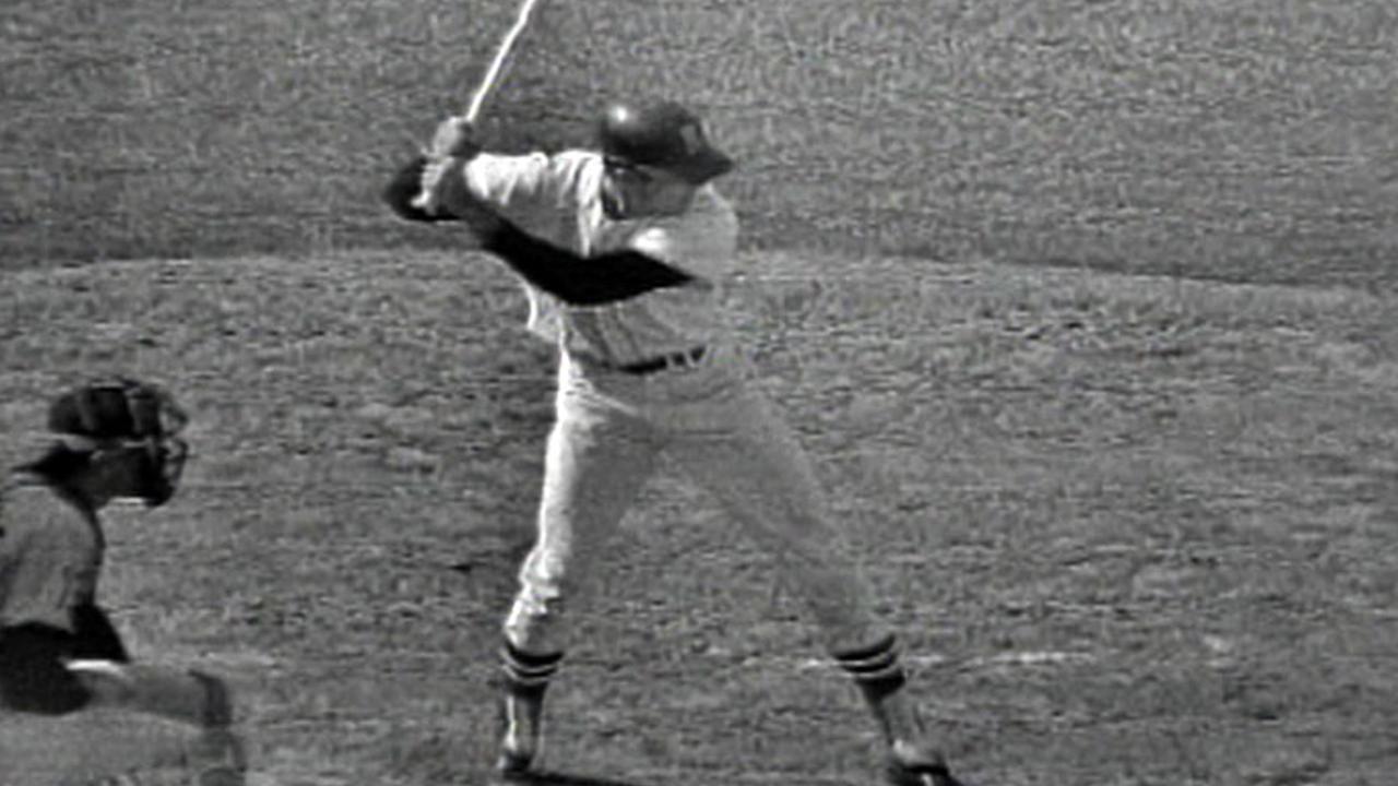 Conigliaro's first home run