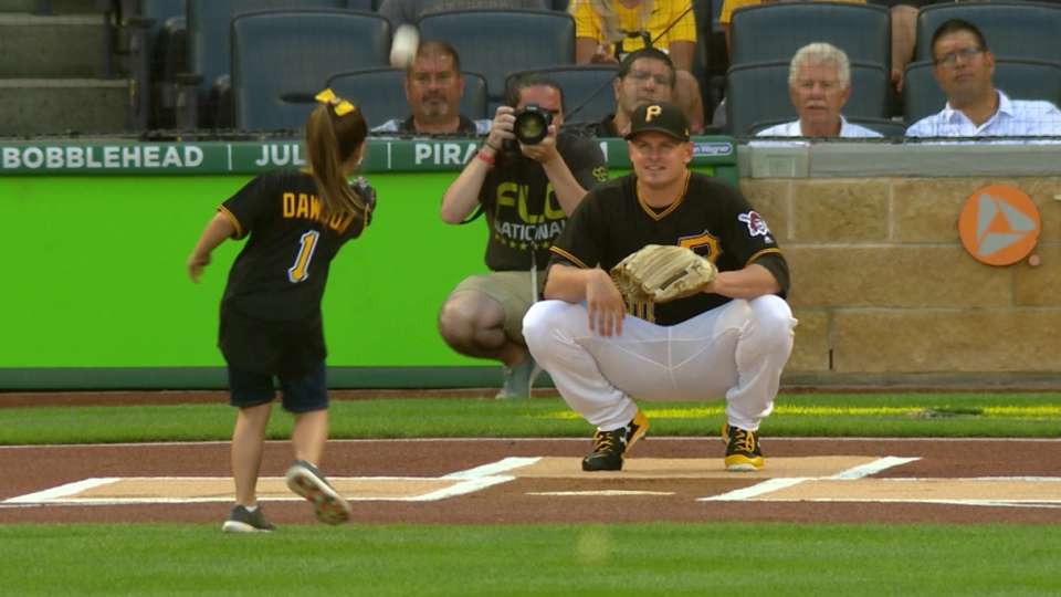 Dawson's pitch in Pittsburgh