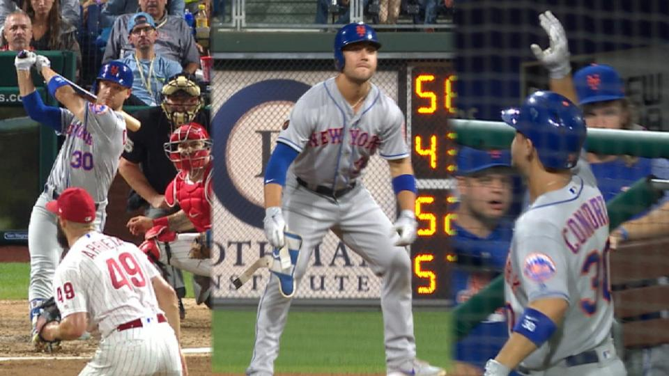 Mets put dent in postseason hopes for Phils