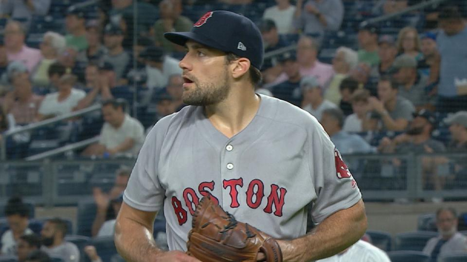Eovaldi's 6 scoreless vs. Yanks