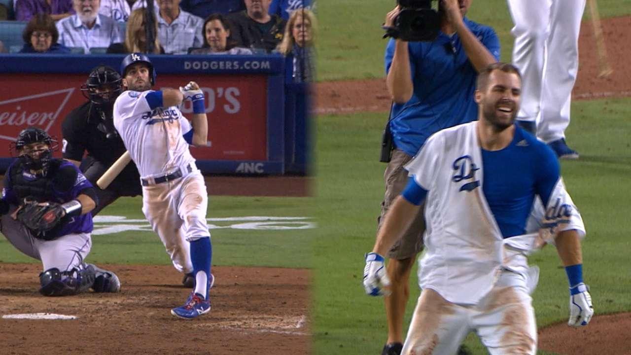 Dodgers permanecen en la cima tras HR de oro de Taylor en la 10ma f477b75c1a5