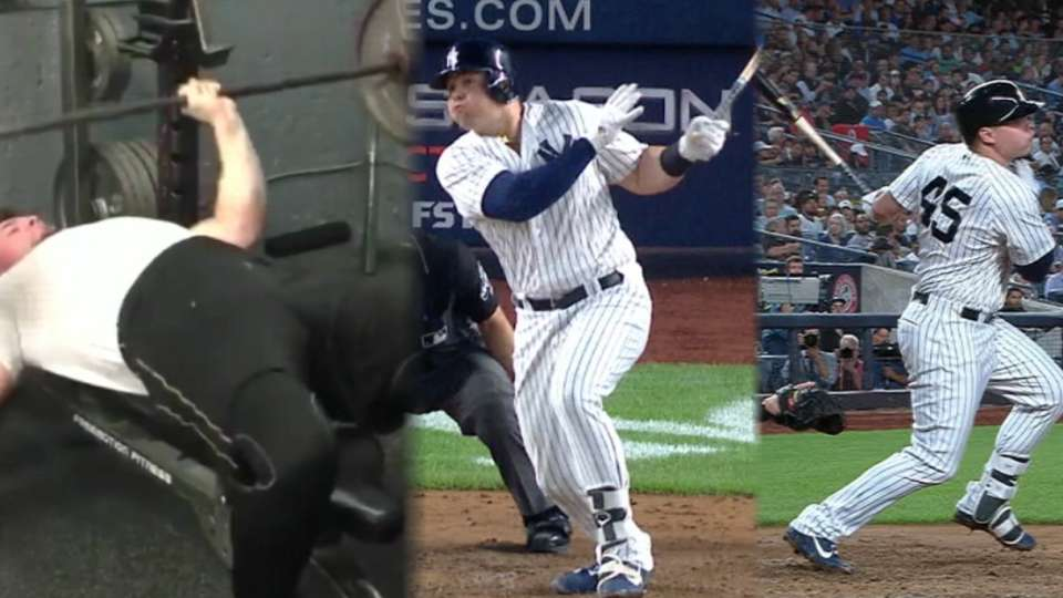 Voit flaunts power in 4-hit game