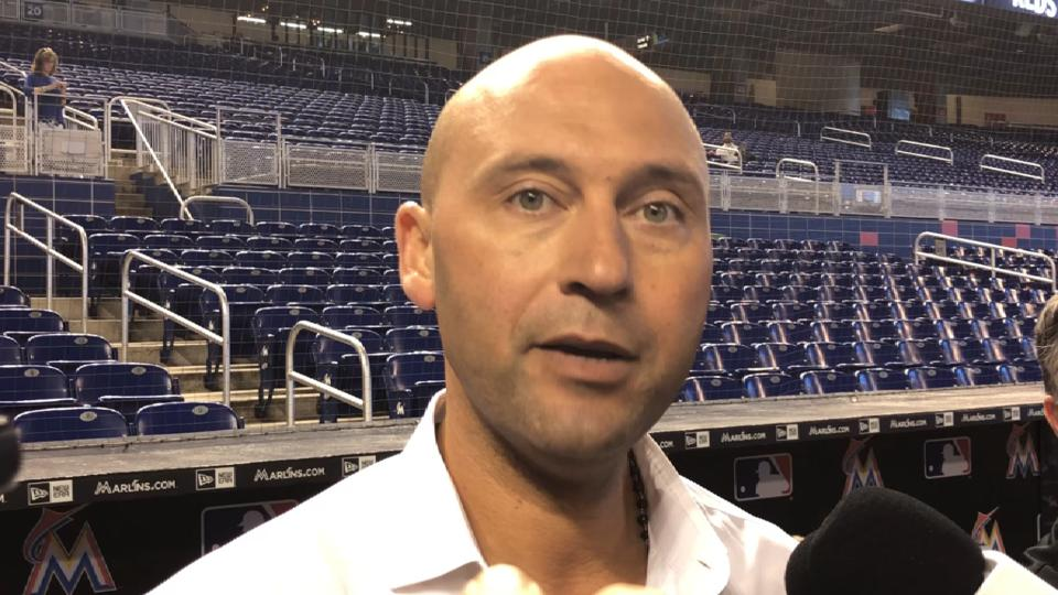 Jeter on Marlins' successes
