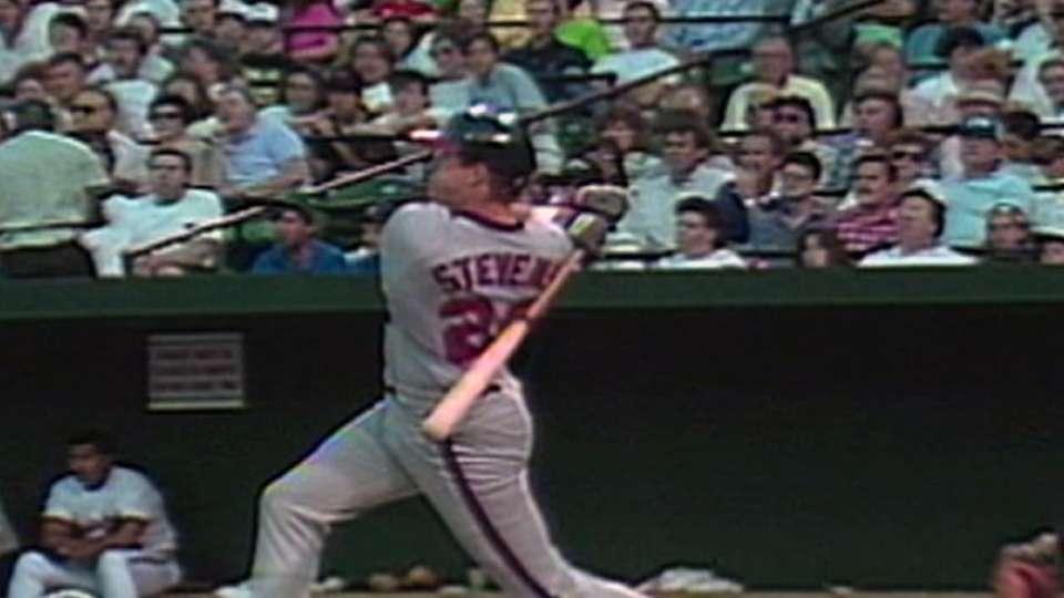 Stevens' two-run homer
