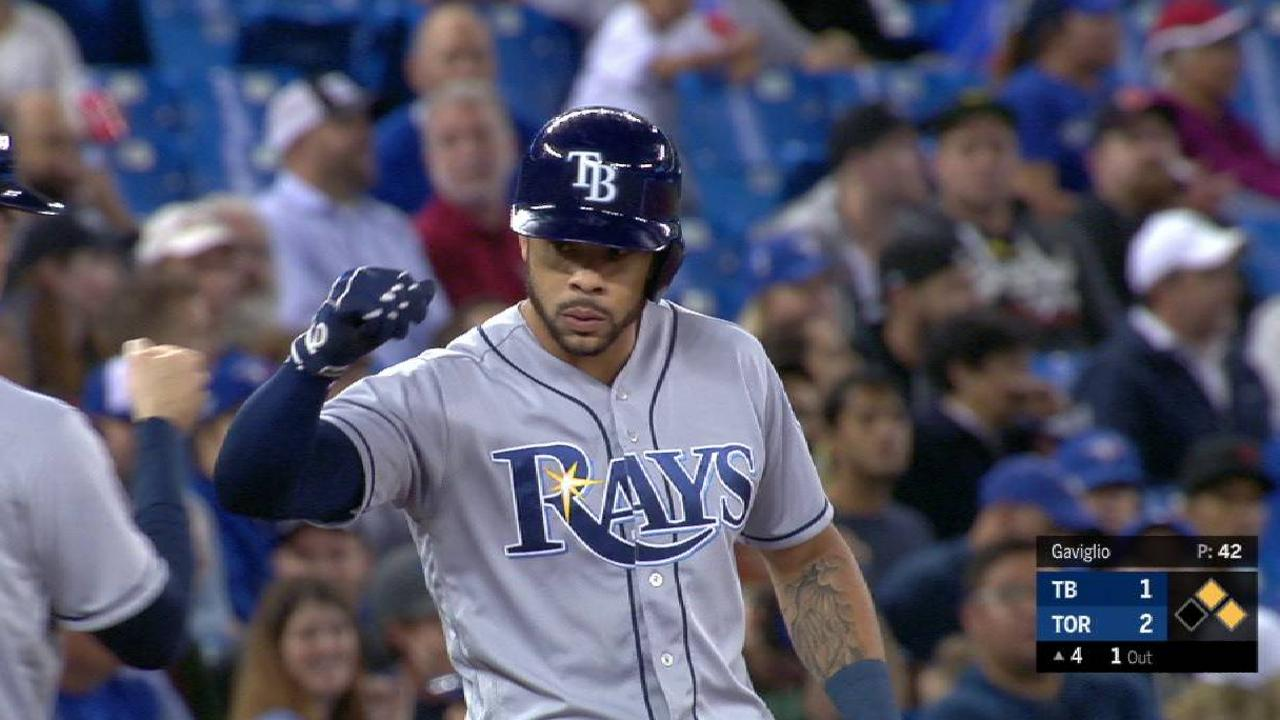 Rays Lose On 7 Run Comeback By Blue Jays Mlb