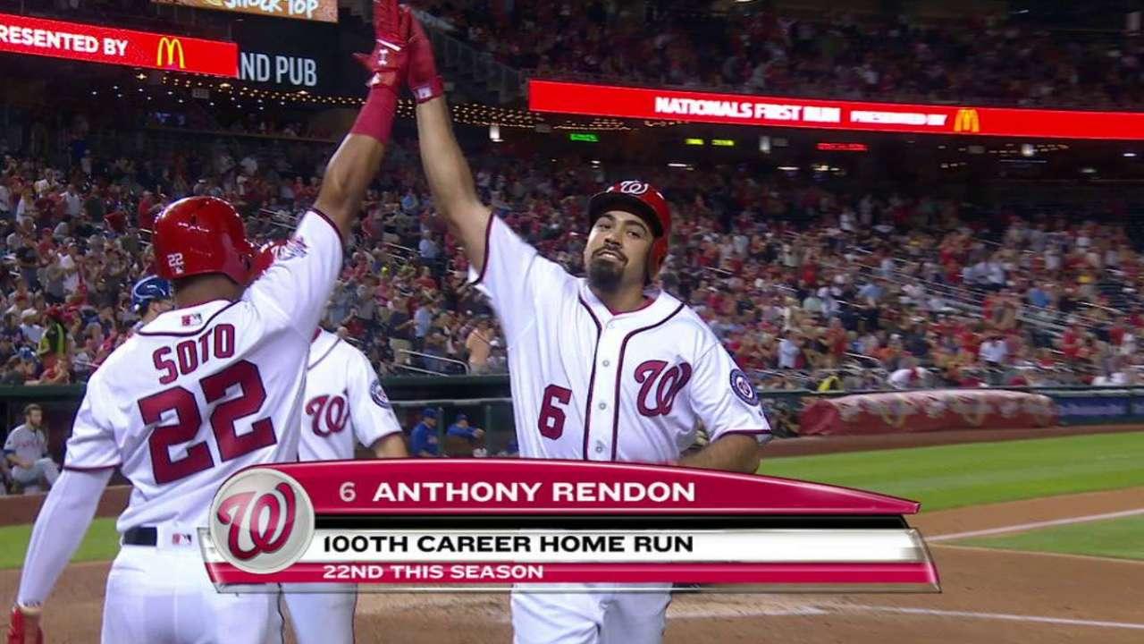 Rendon's 100th career home run