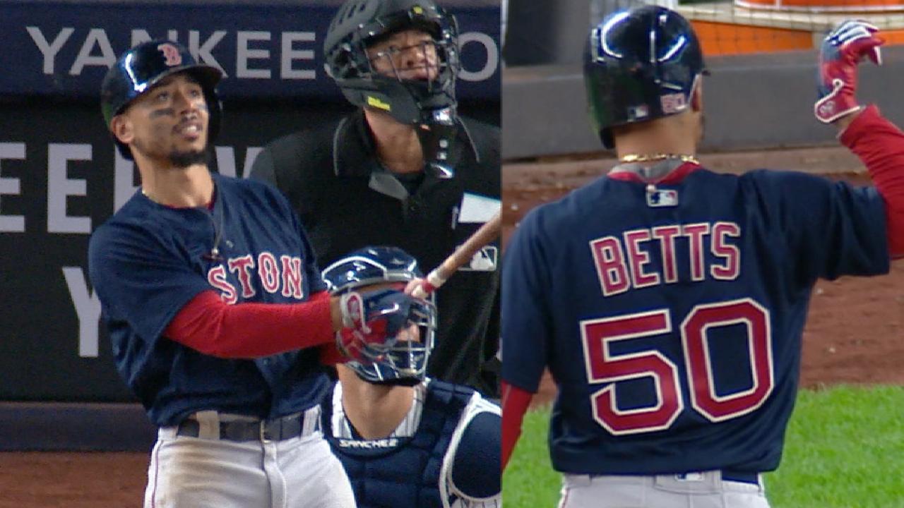 Betts' 4-hit, 5-RBI game