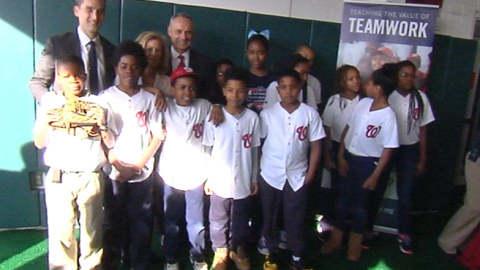 Manfred at Youth Academy in D.C.