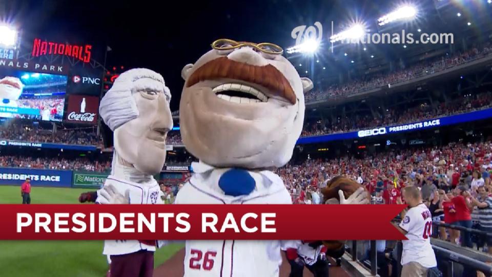 August 22 Presidents Race