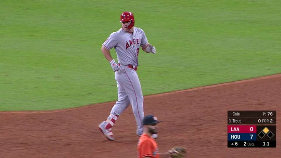 Trout's 37th home run