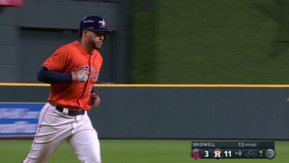 Springer's mammoth 3-run homer