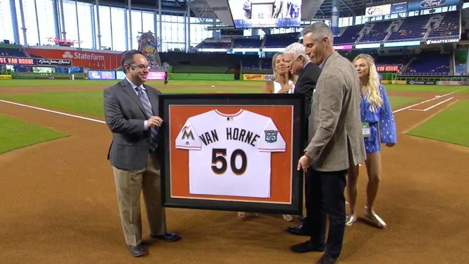 Marlins Honor Van Horne