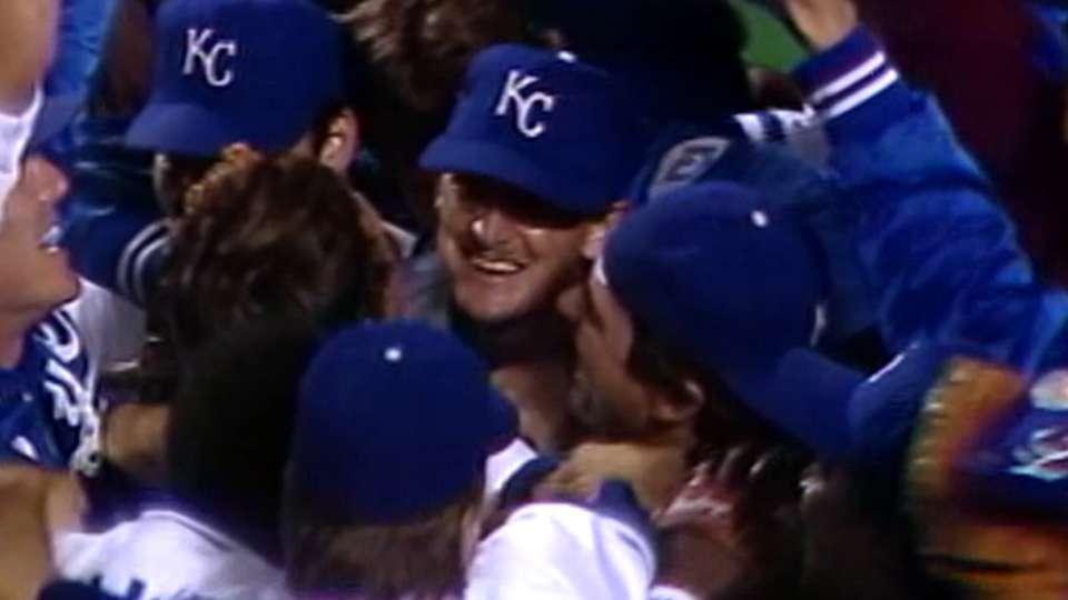 Royals win 1985 World Series