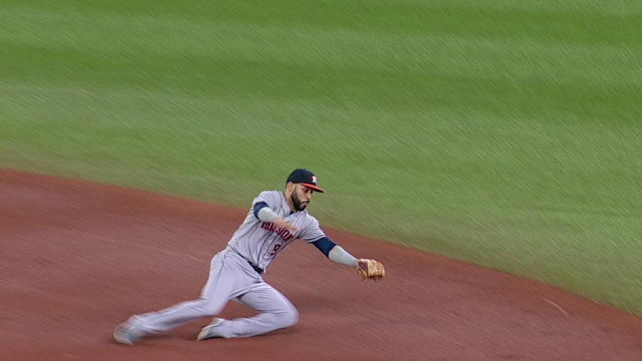 Gonzalez slides to start DP