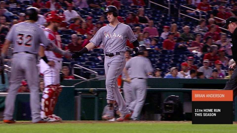 Anderson's 3-run home run