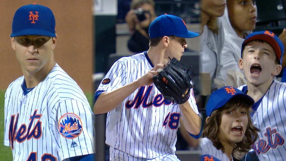 Mets' deGrom ends historic 2018 season with 1.70 ERA