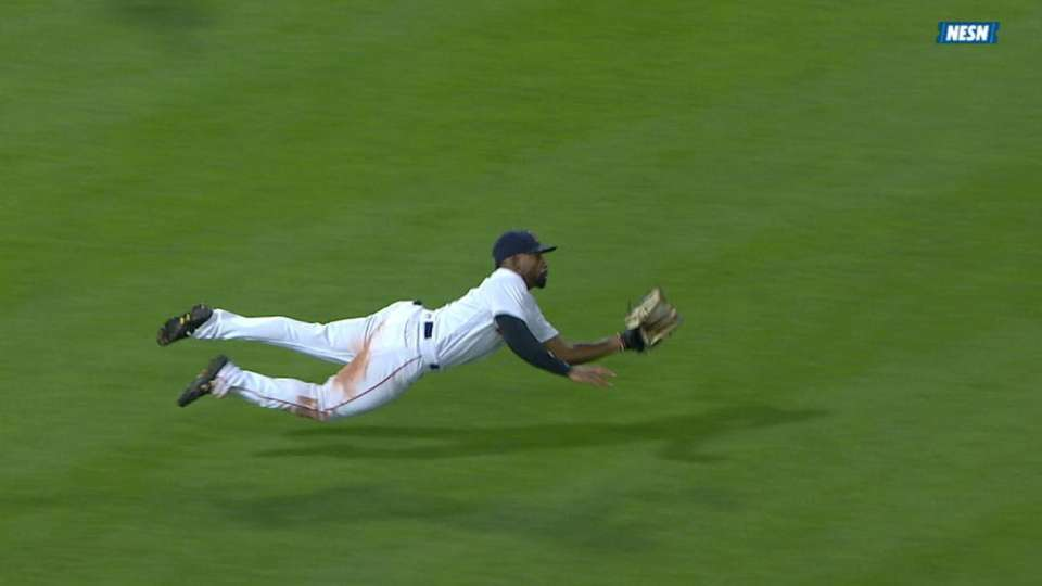 Bradley's incredible diving grab