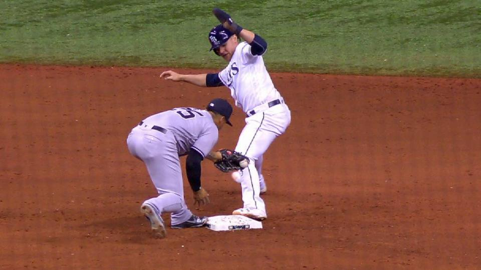 Bauers safe on overturned call