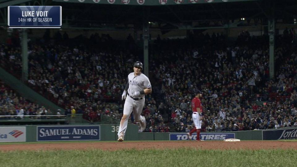 Voit's solo home run