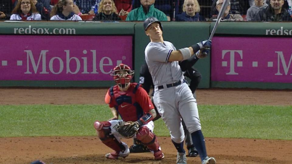 Judge's 27th home run