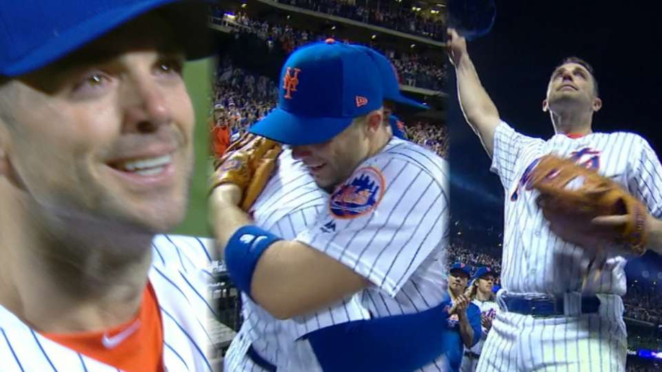 Wright exits to standing ovation