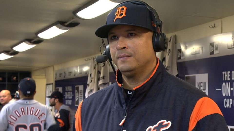 Martinez discusses retirement