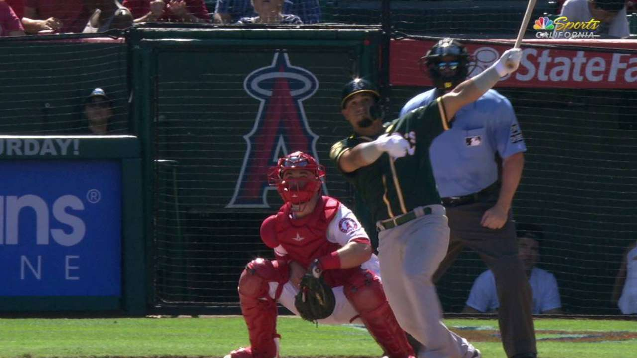 Barreto's 2-run home run