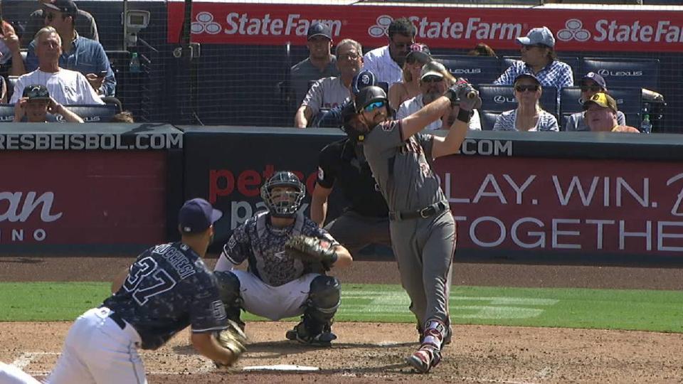 Souza Jr.'s solo home run