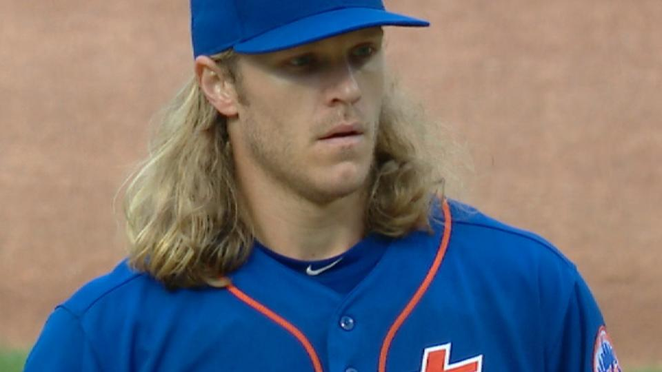 Mets end rollercoaster season with Thor shutout