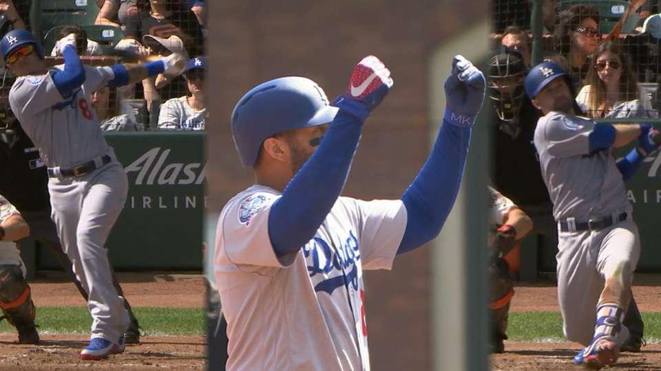 Dodgers explotan en el 3ro
