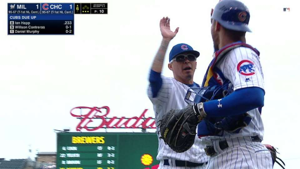 Chavez induces double play