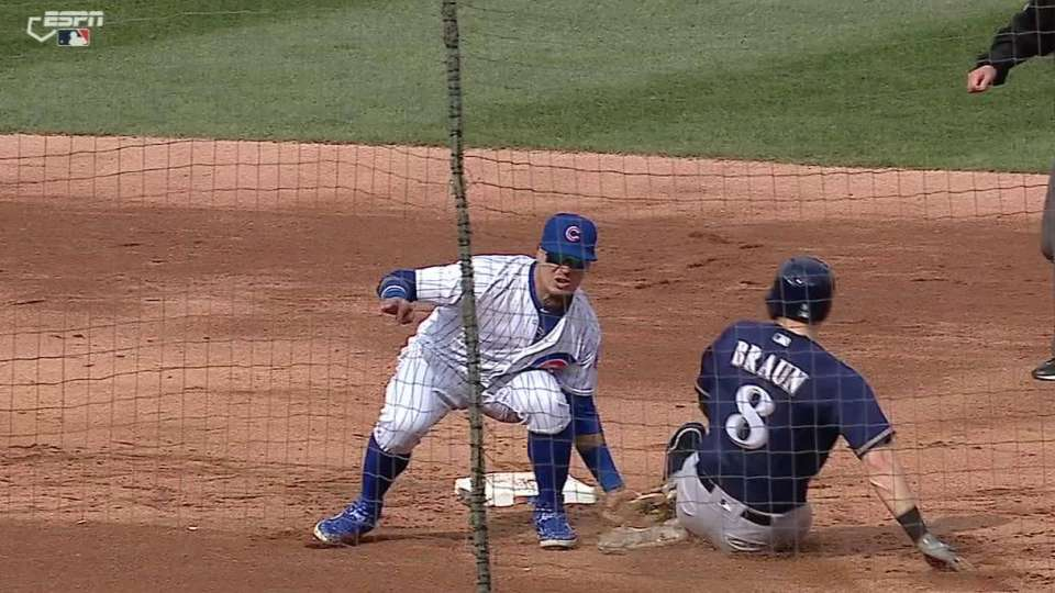 Contreras nabs Braun stealing
