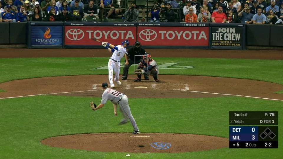 Turnbull strikes out Yelich