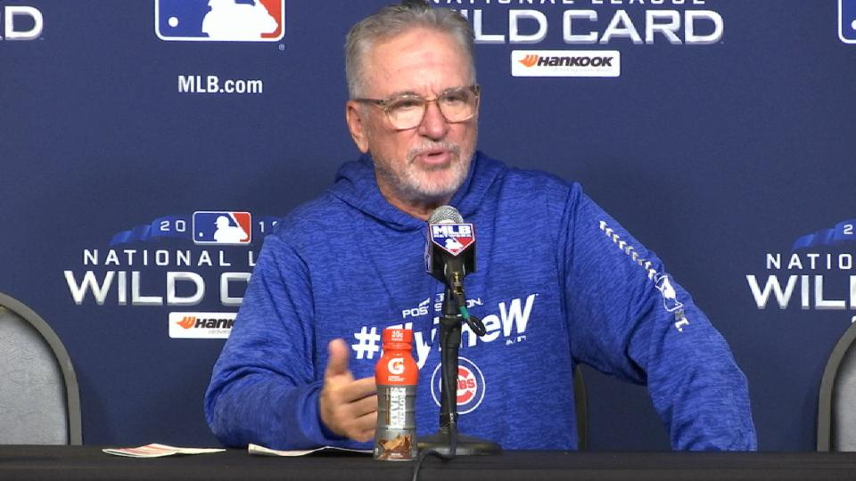 Maddon on offense, pitching