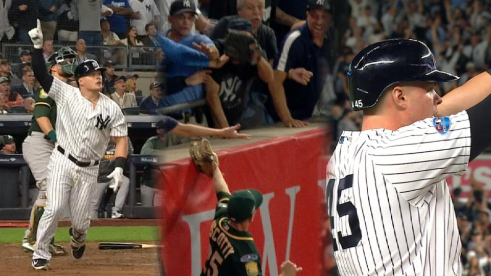 Yankees rout A's in wild-card game, ALDS vs Red Sox next
