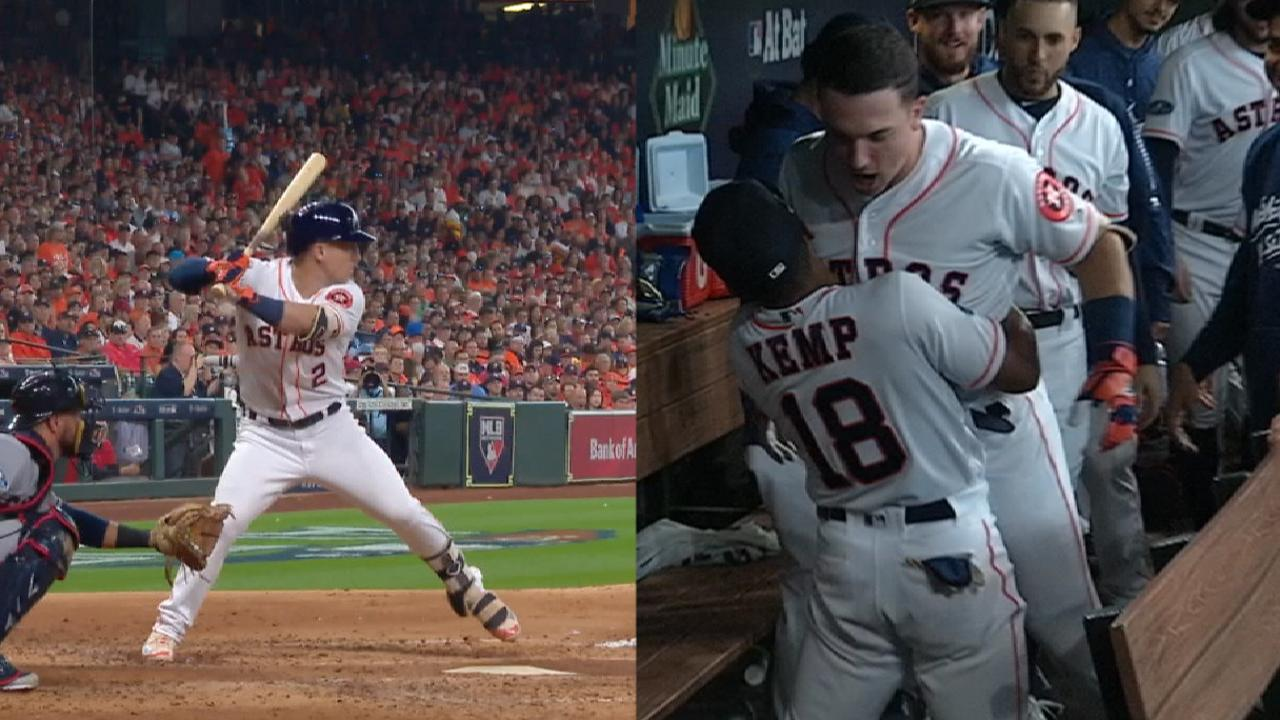 Astros vs  Indians final score: Bregman homers, Kluber