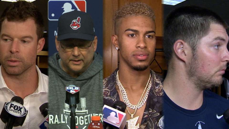 Indians on Game 1 loss