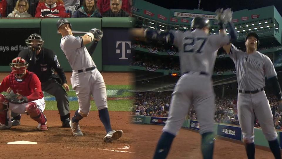 Red Sox take game one of ALDS as Yankee rally falls short