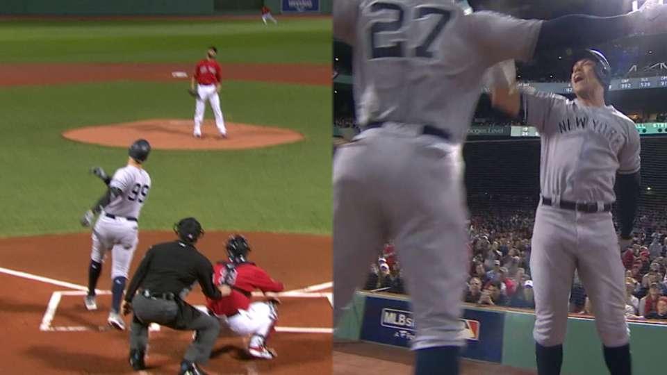 Judge's 445-foot solo homer