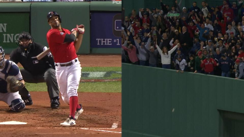 Bogaerts' towering solo home run