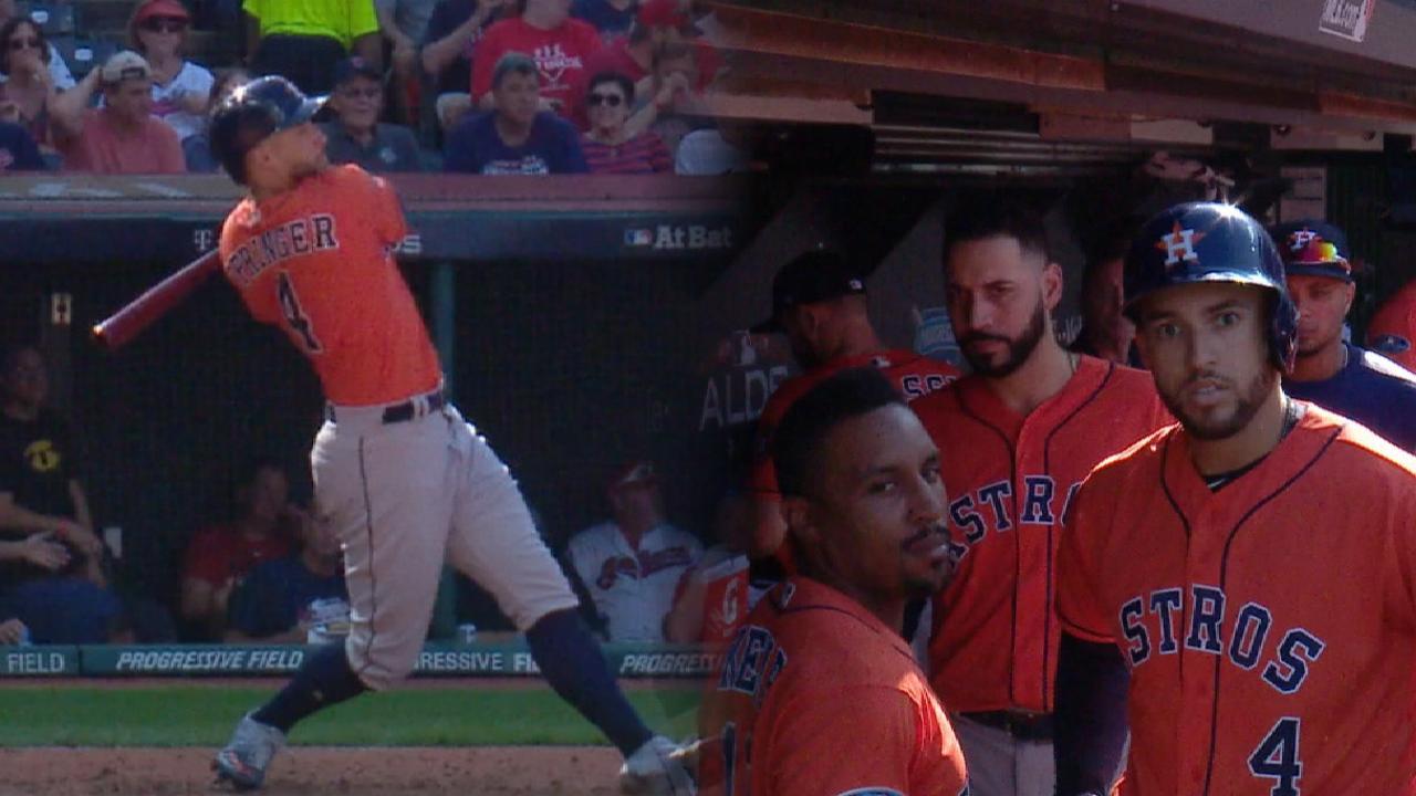 Springer's solo home run